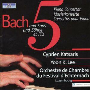 Bach And Sons - Cyprien Katsaris