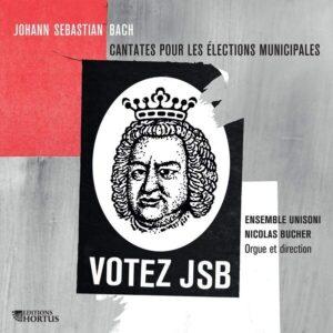 Bach: Cantates pour les élections municipales - Ensemble Unisoni