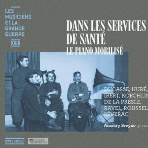 Dans les services de santé: le piano mobilisé (Les musiciens et la Grande Guerre, Vol. 23) - Amaury Breyne