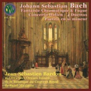 Bach: Pieces Pour Clavier - Bardon