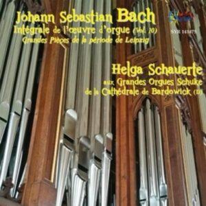 Bach: Intégrale De L'Oeuvre D'Orgue Vol. 10 - Schauerte