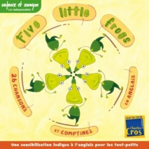 Five Little Frogs - Sheena Roberts