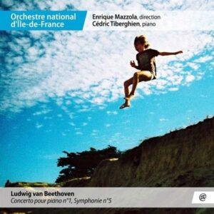 Beethoven: Piano Concerto No.1, Symphony No.5 - Cedric Tiberghien
