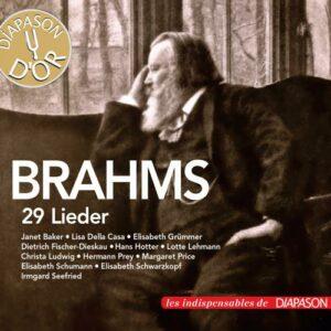 Brahms : 29 Lieder. Baker, Della Casa, Ludwig, Price, Schwarzkopf…
