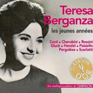 Teresa Berganza : Les jeunes années. Gibson, Bonynge.