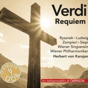 Verdi : Requiem. Rysanek, Ludwig, Zampieri, Siepi, Karajan.