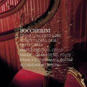 Boccherini: Cello Concerto G480, Quintets G436 & G451 - Marco Ceccato