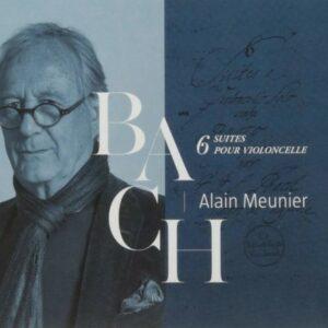 Bach: 6 Suites Pour Violoncelle - Alain Meunier