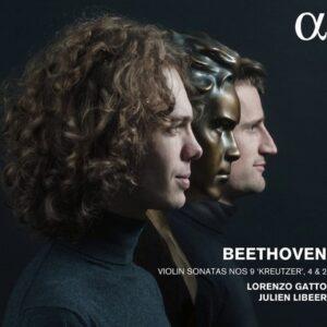 """Beethoven: Violin Sonatas Nos.9 """"Kreutzer"""", 4 & 2 - Gatto"""