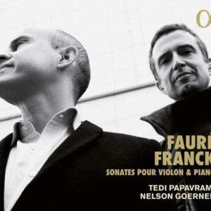Franck / Fauré: Sonates Pour Violon & Piano - Tedi Papavrami