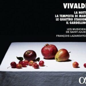 Vivaldi: La Notte, La Tempesta Di Mare, Le Quattro Stagioni - Francois Lazarevitch