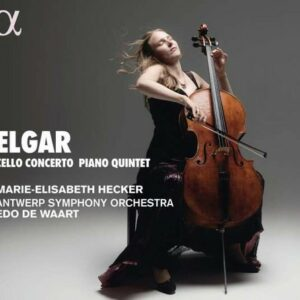 Elgar: Cello Concerto, Piano Quintet, Sospiri - Marie-Elisabeth Hecker
