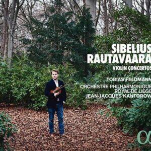 Sibelius / Rautavaara: Violin Concertos - Tobias Feldmann
