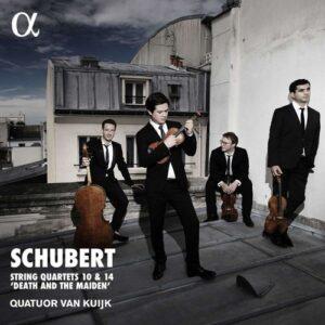 Schubert: String Quartets 10 & 14 'Death And The Maiden' - Quatuor Van Kuijk