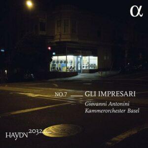 Haydn 2032, Vol. 7 - Gli Impresari - Giovanni Antonini