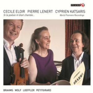 Brahms / Wolf / Loeffler / Petitgirard: Works For Alto, Viola & Piano - Eloir