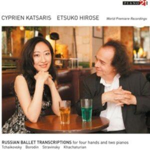 Russian Ballet Transcriptions - Cyprien Katsaris
