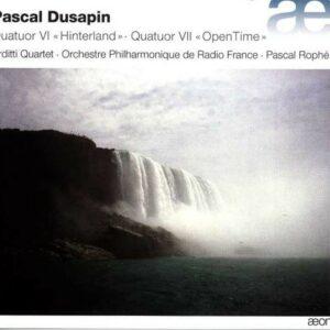 Dusapin: Quatuor VI  & Quatuor VII  - Arditti Quartet