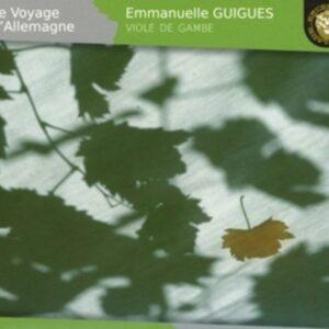 Schenck /  Telemann /  Bach: Le Voyage D' Allemagne - Emmanuelle Guigues