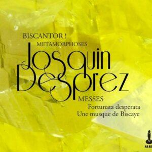 Josquin Desprez: Messes - Biscantor!
