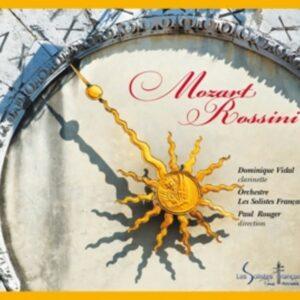 Mozart-Rossini - Dominique Vidal /  Les Solistes Fra