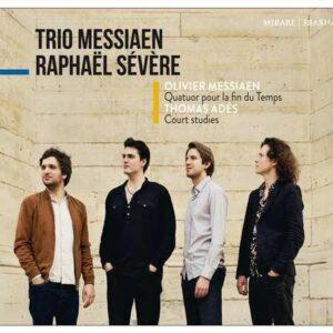 Messiaen: Quatuor Pour La Fin Du Temps / Ades: Court Studies  - Trio Messiaen