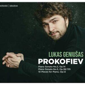 Prokofiev: Piano Sonatas Nos.2 & 5; 10 Piano Pieces Op.12 - Lukas Geniusas