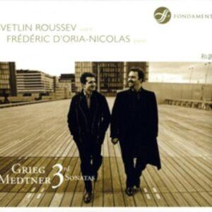 Grieg / Medtner: Violin Sonatas - Svetlin Roussev
