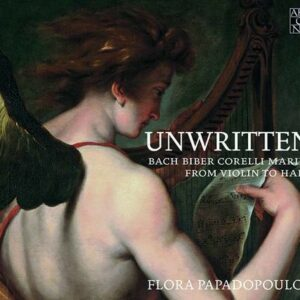Unwritten, From Violin To Harp - Flora Papadopoulos