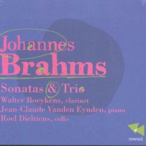 Johannes Brahms: Sonatas & Trio - Walter Boeykens