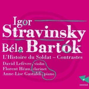 Igor Stravinsky - Bela Bartok: L'Histoire Du Soldat - Contrastes - Florent Heau