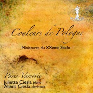 Couleurs de Pologne. Miniatures du XX siècle. Paris-Varsovie.