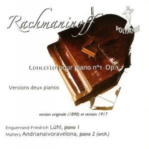 Rachmaninov : Concerto n° 1 pour deux pianos (Versions 1890 et 1917). Lühl, Andrianaivoravelona.
