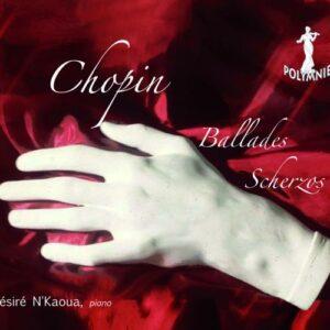 Chopin : Ballades et Scherzos. N'Kaoua.