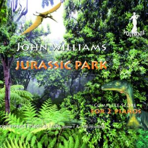 John Williams : Jurassic Park (transcriptions pour 2 pianos). Lühl.