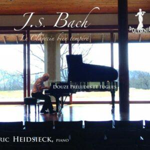 Bach : Le clavier bien tempéré, douze préludes et fugues. Heidsieck.