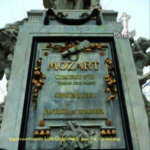 Mozart : Œuvres pour piano. Lühl.