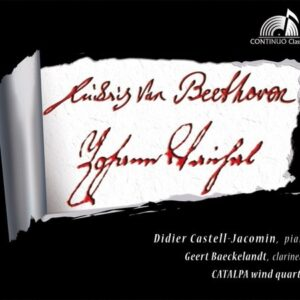 Vanhal / Beethoven: Sonate Clarinet & Piano 1 & 3 / Quintette pour Piano et Vents - Didier Castell-Jacomin