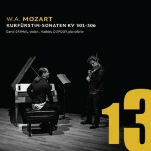 Mozart: Kurfürstin-Sonaten Kv301-306 - Grimal