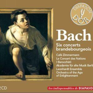 Bach : Six concerts Brandebourgeois.