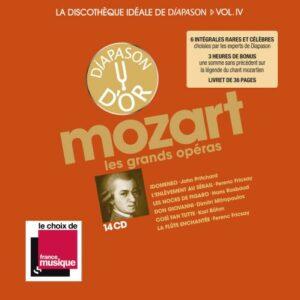 vol. 4 / Mozart La discothèque idéale de Diapason: Les grands opéras -