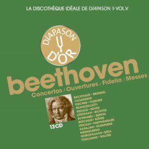 vol. 5 / Beethoven La discothèque idéale de Diapason: Concertos - Ouvertures - Fidelio - Messes.