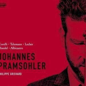 Sonatas For Violin And Basso Continuo - Pramsohler