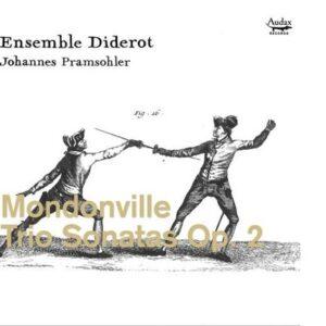 De Mondonville: Trio Sonatas Op.2 World Premiere Re - Ensemble Diderot