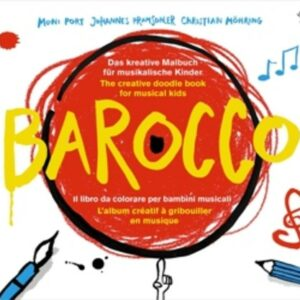 Barocco - Creative Doodle Book For Musical Kids