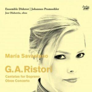 G.A. Ristori: Cantatas For Soprano / Oboe Concert - Maria Savastano