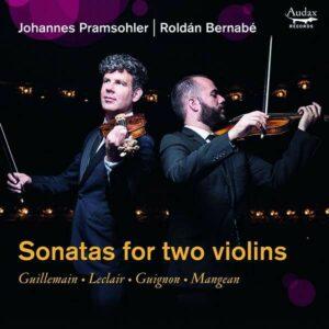 Sonatas For Two Violins - Johannes Pramsohler