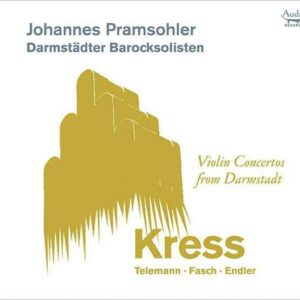 Violin Concertos From Darmstadt - Johannes Pramsohler