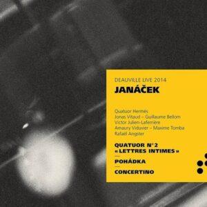 Janacek: String Quartet No.2, Concertino - Quatuor Hermès