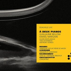 A Deux Pianos - Guillaume Bellom & Ismaël Margain